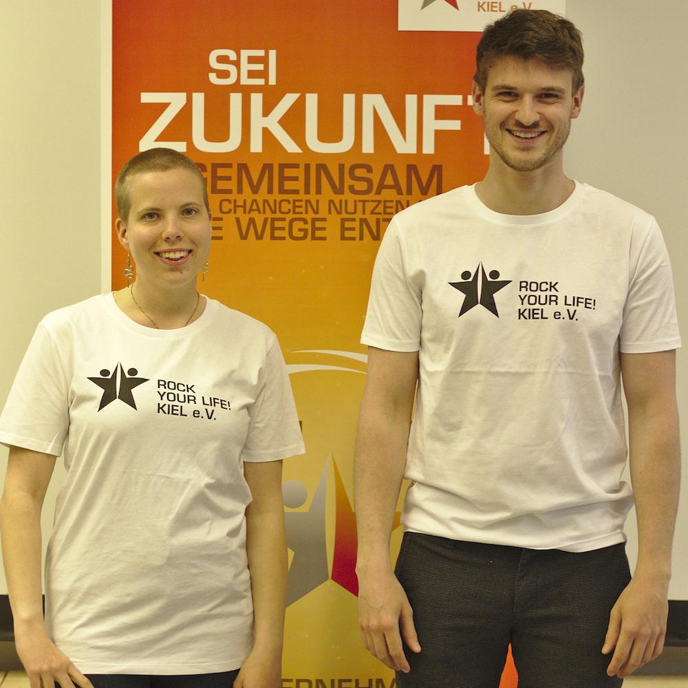 Lena Weige und Christoph Klaiber