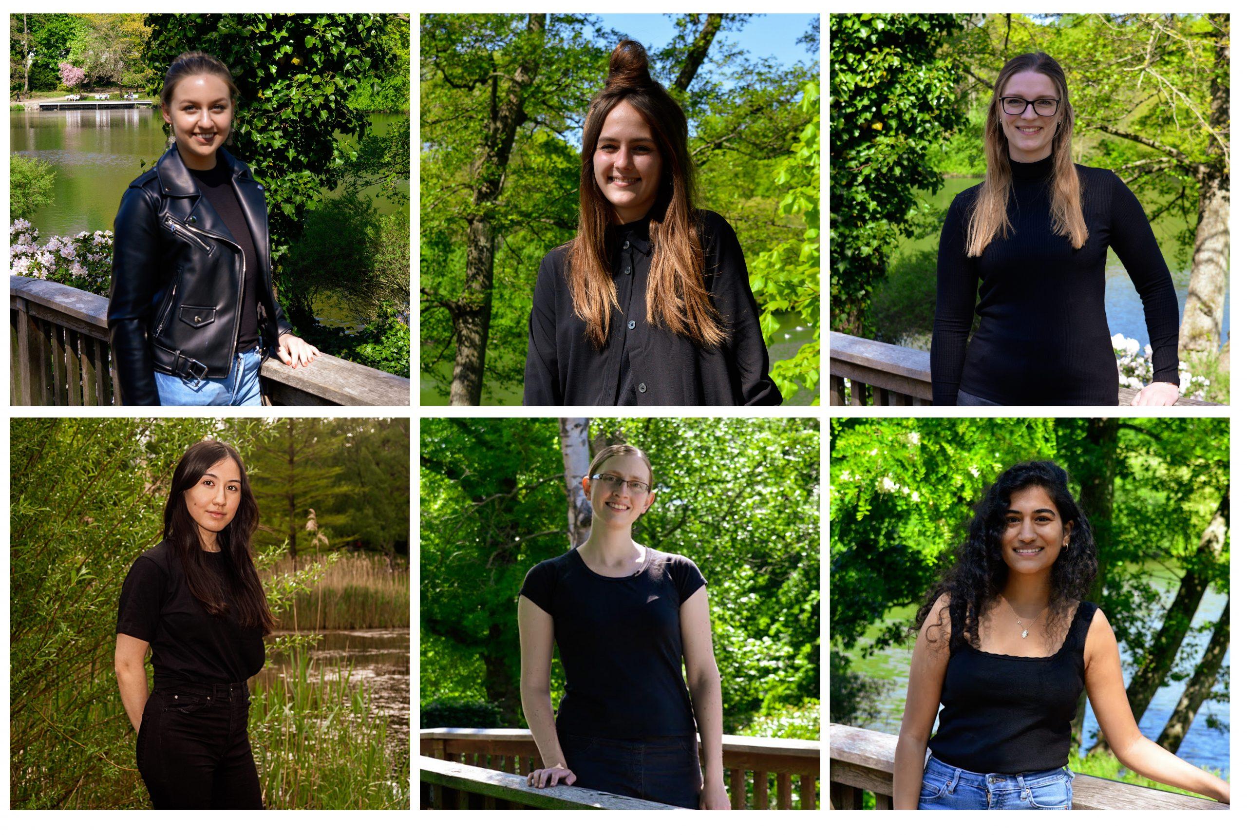 Jessica Schulz, Tamina Spilker, Lynn Adler, Chantelle Bissinger, Katja Döbel und Dilan Goeren